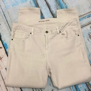 Michael Kors Skinny Jeans Ivory Size 12